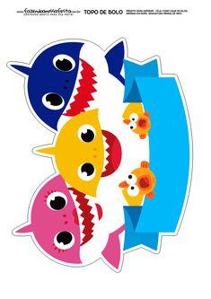 pinkfong and baby shark coloring sheet printable | Theme ...