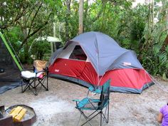 Camping at Collier-Seminole State Park, FL