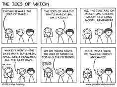The Ides of Which? — Good Tickle Brain: A Mostly Shakespeare Webcomic