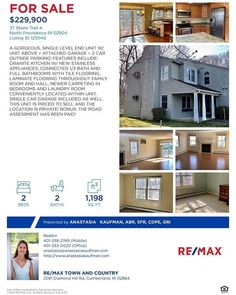 North Providence, Attached Garage, Stainless Appliances, Granite Kitchen, Laminate Flooring, Full Bath, Laundry Room, My House, Tile Floor
