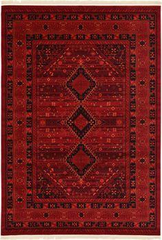 Red 7' x 10' Bokhara Rug | Area Rugs | eSaleRugs