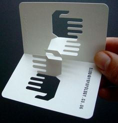 Unusual 3D Business Cards