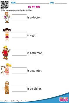HE or SHE