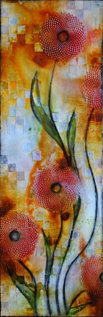 Christy Riopel very cool texture on this one!