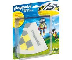 Prezzi e Sconti: #Playmobil paracadutista greg (5454)  ad Euro 5.58 in #Playmobil #Giochivideogame giocattoli