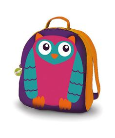 Cute owl backpack (on offer Zulily)  #spon