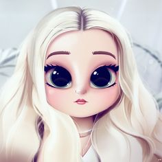 Cartoon, Portrait, Digital Art, Digital Drawing, Digital Painting, Character Design, Drawing, Big Eyes, Cute, Illustration, Art, Girl, Dove Cameron