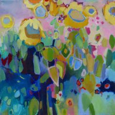 Sunflowers | Corre Alice #colorful #abstract #art