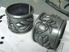 diy pauldrons and or bracers but some great tips for any cosplay armor!