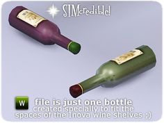 SIMcredible!'s Inova Wine Bottle