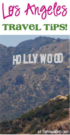 """Planning a trip to Los Angeles?? Check out these Fun Los Angeles Travel Tips, shared by your frugal friends on The Frugal Girls Facebook page... Sherie said: """"Hollywood and Vine, Pink's Hot Dog sta..."""
