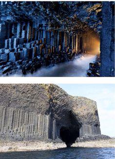 Grotte de Fingal-Écosse