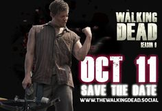 The Walking Dead Returns Oct 11 www.thewalkingdea... #TheWalkingDead #TheWalkingDeadFans #TheWalkingDeadSocial #TWD #TWDFans #TWDSocial #TheWalkingDeadAMC #AMC #TheWalkingDeadSeason6 #DarylDixon #RickGrimes #Michonne