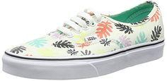 Vans Authentic, Unisex-Erwachsene Sneakers, Mehrfarbig (washed Kelp/multi/white), 38.5 EU - http://on-line-kaufen.de/vans/38-5-eu-vans-authentic-unisex-erwachsene-sneakers-63