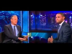 Jon Stewart and Trevor Noah [his1st appearance] Compare Racism in America Versus Africa