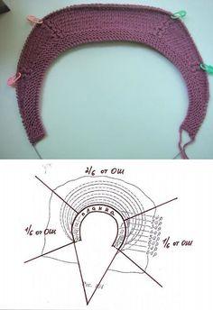 Best 12 Ravelry: ElfN's Conti-rag stripes – SkillOfKing. Knitting Stiches, Knitting Charts, Lace Knitting, Knit Or Crochet, Crochet Motif, Crochet Baby, Stitch Patterns, Knitting Patterns, Crochet Patterns