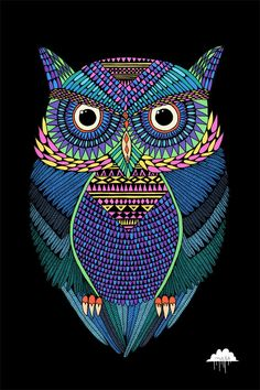Michael the Magical Owl by *MulgaTheArtist  *MulgaTheArtist'sTumblr