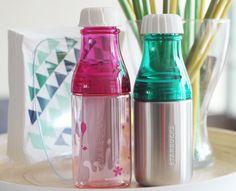 Starbucks 2015 Sunny silver water bottle Japan Starbucks Sakura Cherry Blossom #Starbucks