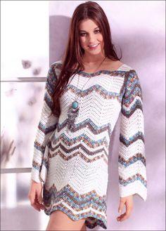 Платье в стиле Миссони