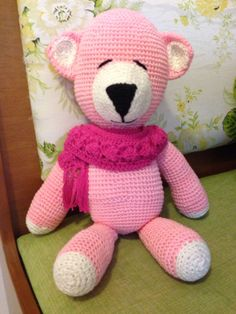 Urso rosa