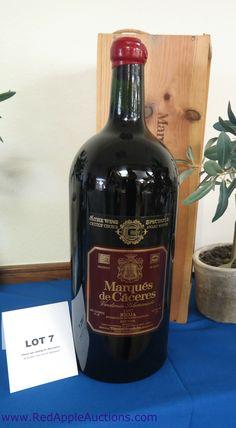 Live auction item -- magnum