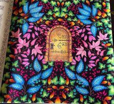 Secret Garden Door, Garden Doors, Joanna Basford Secret Garden, Secret Garden Coloring Book, Posca Art, Pattern Pictures, Johanna Basford, Coloring Book Pages, Adult Coloring