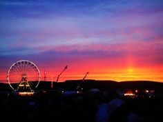 Another one of our favourite festivals - T in the Park, who thought it would look so warm!