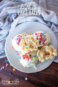 This easy cake balls recipe is delicious for any occasion and the perfect balance of cake   frosting in every bite! Great to make with kids. via @longbournfarm