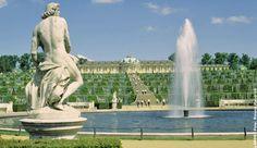 GERMANY, POTSDAM, Sanssouci Palace