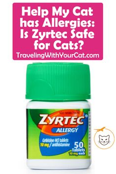 Many veterinarians and studies show there are fewer side effects with Zyrtec than other available antihistamines on the market in the treatment of cat allergies Cat Allergies, Tablet 10, Veterinarians, Cat Health, Side Effects, Help Me, Cats, Gatos, Kitty Cats