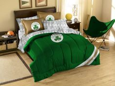 Use this Exclusive coupon code: PINFIVE to receive an additional 5% off the Boston Celtics Contrast Full Size Bed in a Bag only $129.95 at SportsFansPlus.com