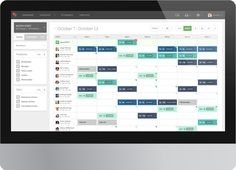 Employee Scheduling Software - screenshot of the shift planning and workforce management staff scheduler for When I Work