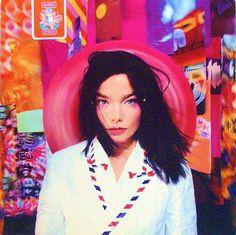 Björk - Post - UK Pink Vinyl LP - Front Cover
