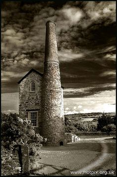 Tin Mine House, Near Scorrier, Cornwall, UK