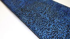 Island Batiks F57-BU-MD Royal Blue Seeds Flowers Floral Quilting Sewing Fabric Batik Royal Blue, Seeds, Quilting, Fabrics, Trending Outfits, Unique Jewelry, Handmade Gifts, Island, Sewing