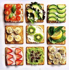 Healthy snack ideas courtesy of Sjana Earp