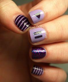 17 Beautiful Dark Purple Nail Designs | T&M
