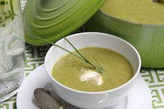 GREEN LEEK SOUP This soup is very spicy, and good to replace minerals after sweating. 1 quart distilled water 2 onions, peeled and chopped 3 carrots, peeled and chopped 6 celery stalks, chopped 1 leek (with dark green leaves removed) chopped and thoroughly rinsed all grit 1 cup chopped fresh spinach ½ head white cabbage, cored and chopped ¼ Bragg Liquid Aminos Leaves from 2 thyme sprig, chopped Leaves from 1 sage spring, chopped Leaves from 2 basil sprigs, chopped 2 teaspoons cayenne pepper
