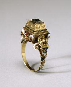 16th century European. Gold, enamel, diamond. The Art Walters Museum.