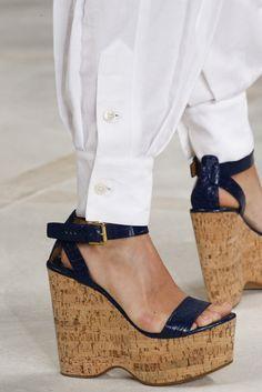 ce7516d228b Ralph Lauren весна лето 2016 макияж и детали Дизайнерская Обувь