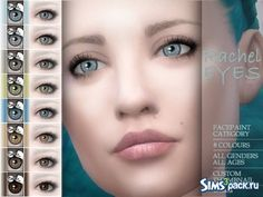 The Sims Resource: Rachel eyes by BAkalia Sims 4 Cc Eyes, Best Mods, Custom Eyes, Sims Community, Sims Resource, Electronic Art, How To Become, Makeup, Eye Colors