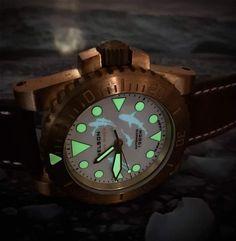 Man Watches, Wood Watch, Bronze, Wooden Clock