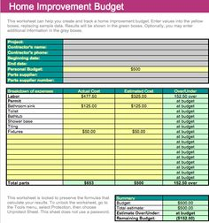 Monthly Budget  Templates  Good To Know    Monthly