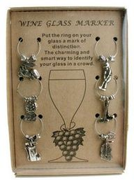 ProActive Sports Wine Charm Set