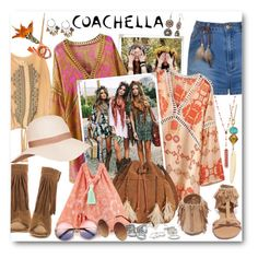 """""""Pack for Coachella!"""" by brendariley-1 ❤ liked on Polyvore featuring Ally Fashion, Forever 21, Red Camel, Chinese Laundry, Patricia Nash, 6 Shore Road, Qupid, Taylor and Tessier, Simons and Betsey Johnson"""