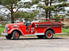 Brookings Fire Department - Brookings, South Dakota - 1940 GMC AC502 #antique #fire #trucks #setcom http://setcomcorp.com/firewireless.html