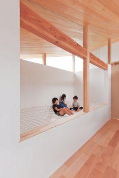 子供部屋事例:キッズルーム(山科の家)