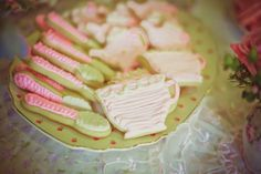 Tea party cookies! T