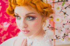 Unicorns, Rainbows and The Brightest Styled Shoot I've Ever Seen: Harajuku Harem · Rock n Roll Bride