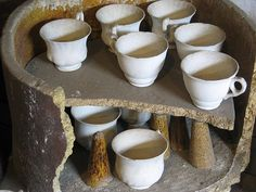 Gladstone Pottery Museum in Longton, Stoke-On-Trent, England.